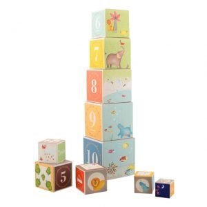 Cubos apilables Papoum Moulin Roty