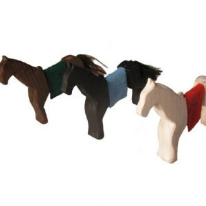 Conjunto de 3 caballos Magic Wood