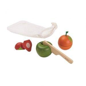 Set de tres frutas Plantoys