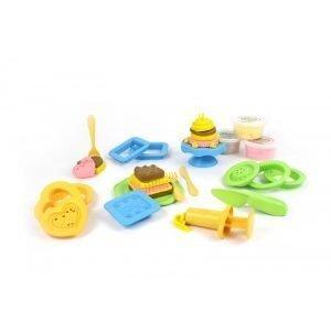 Set pastelería eco plastilina Green Toys