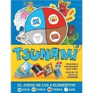 TSUNAMI: El Juego De Los 4 Elementos