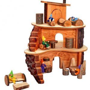 Casa del árbol pequeña Magic Wood