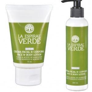 Crema de Algas Facial y Corporal de Limón de La Espiral Verde