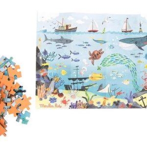 Puzzles Le jardin du moulin de Moulin Roty