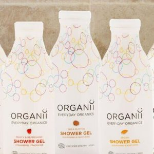 Gel de baño y champú Organii