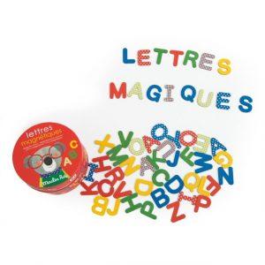 Letras magnéticas Popipop Moulin Roty