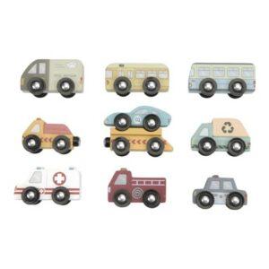 9 vehículos Little Dutch