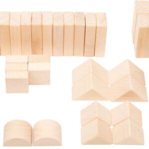 Bloques de construcción madera natural Small foot Legler