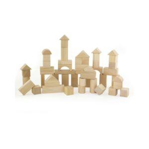 Bloques de madera natural Andreu Toys