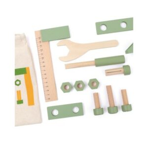 Bolsa herramientas madera Andreu Toys