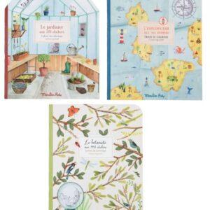 Cuaderno pegatinas «Le Jardin du Moulin» de Moulin Roty