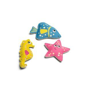 Buceo animales: estrella, caballito de mar y pez BS