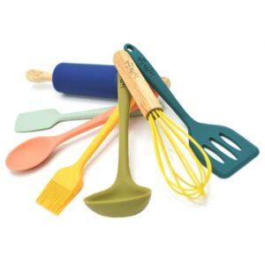 Juego de utensilios de cocina infantil Les P'tits Fouets